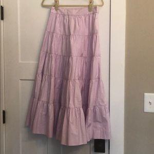J.Crew tiered skirt